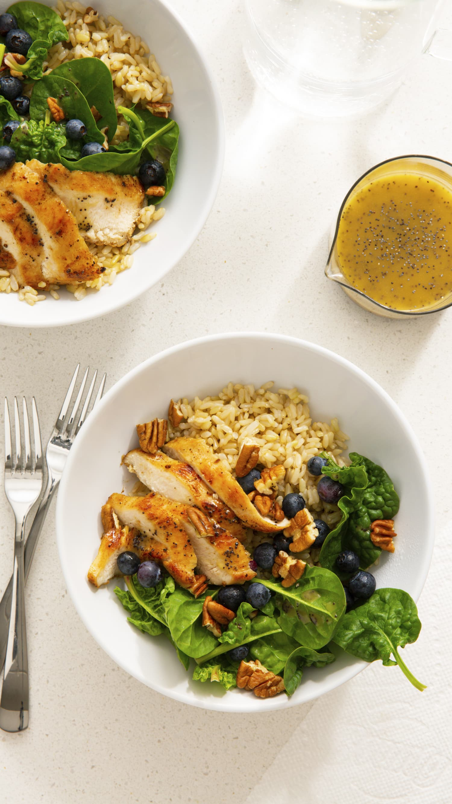 Recipe: Poppy Seed Chicken Grain Bowls