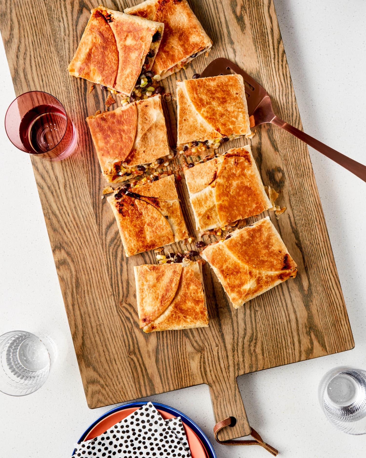 Recipe: Sheet Pan Ranch Quesadillas