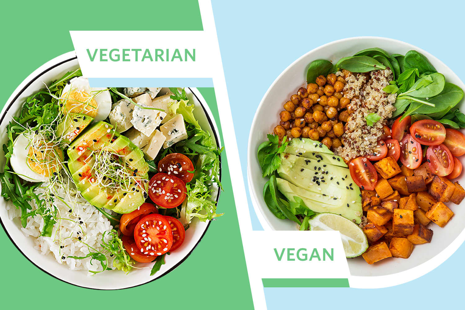 The Difference Between Vegan And Vegetarian Diets Kitchn
