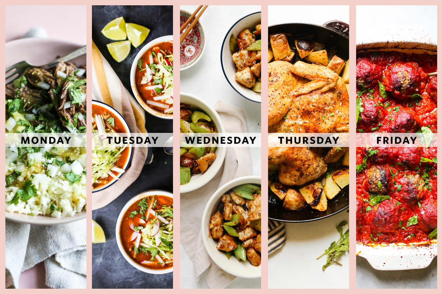 A Week of Family-Friendly Whole30 Dinners from The Defined Dish