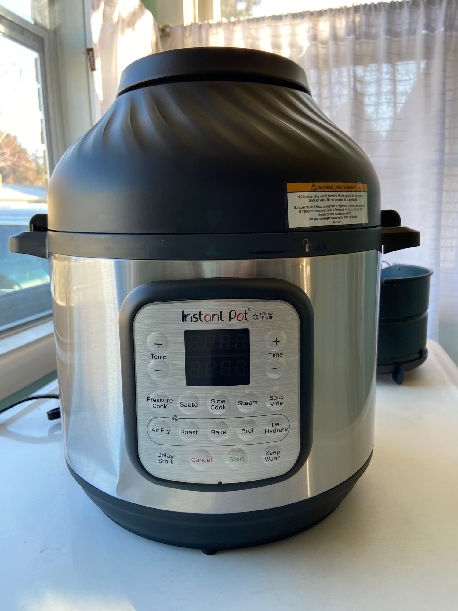 Instant Pot Duo Crisp Lid Air Fryer Review Kitchn