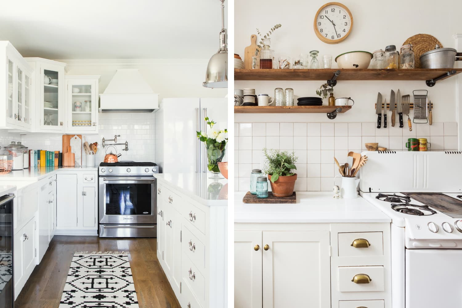 10 of the Most Popular Farmhouse Kitchens on Apartment ...