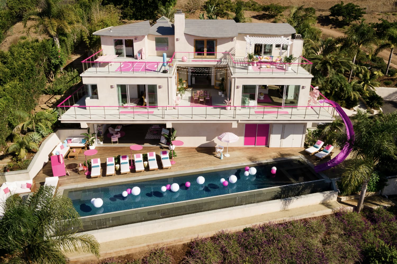 You Need to See the Kitchen in Barbie's Malibu Dream House (Now on Airbnb!)