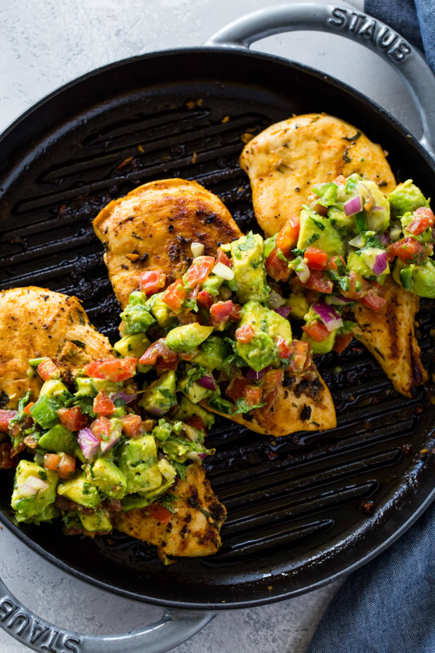 Grilled Avocado Chicken Recipe Gimme Delicious Kitchn