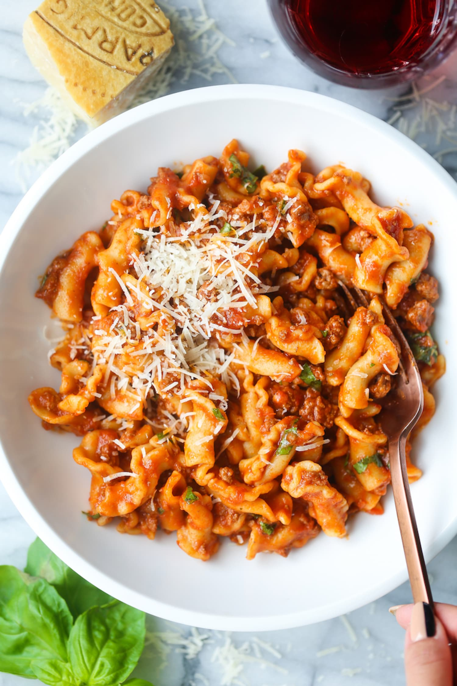 Instant Pot Ground Beef And Pasta Damn Delicious Kitchn