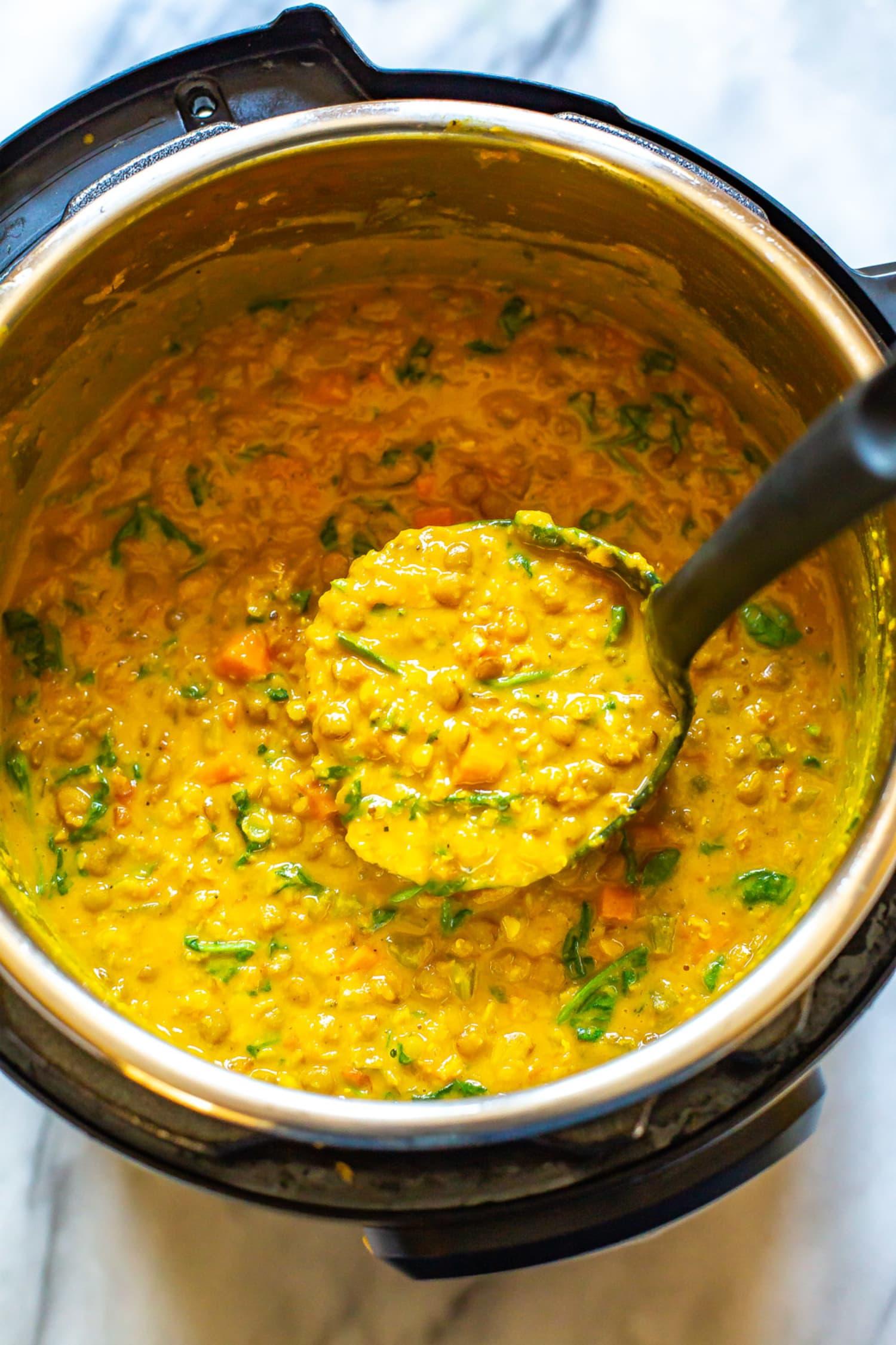 The Best Instant Pot Lentil Soup Eating Instantly Kitchn