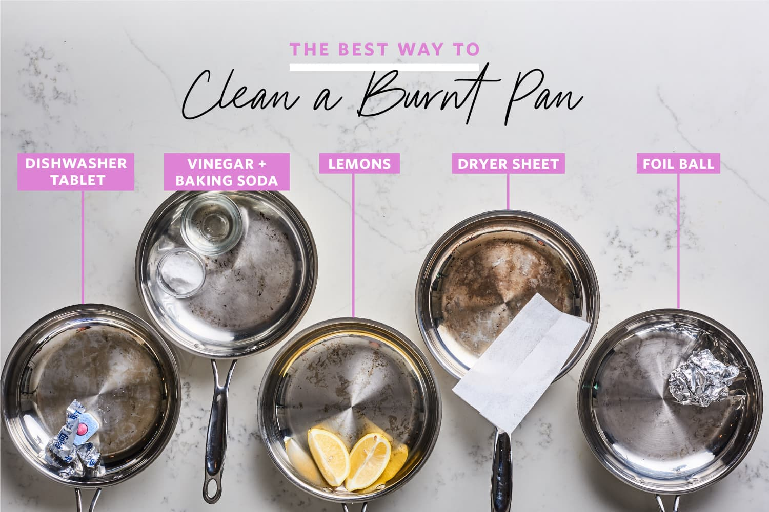We Tried 5 Methods for Cleaning a Burnt Pan and Found a Clear Winner