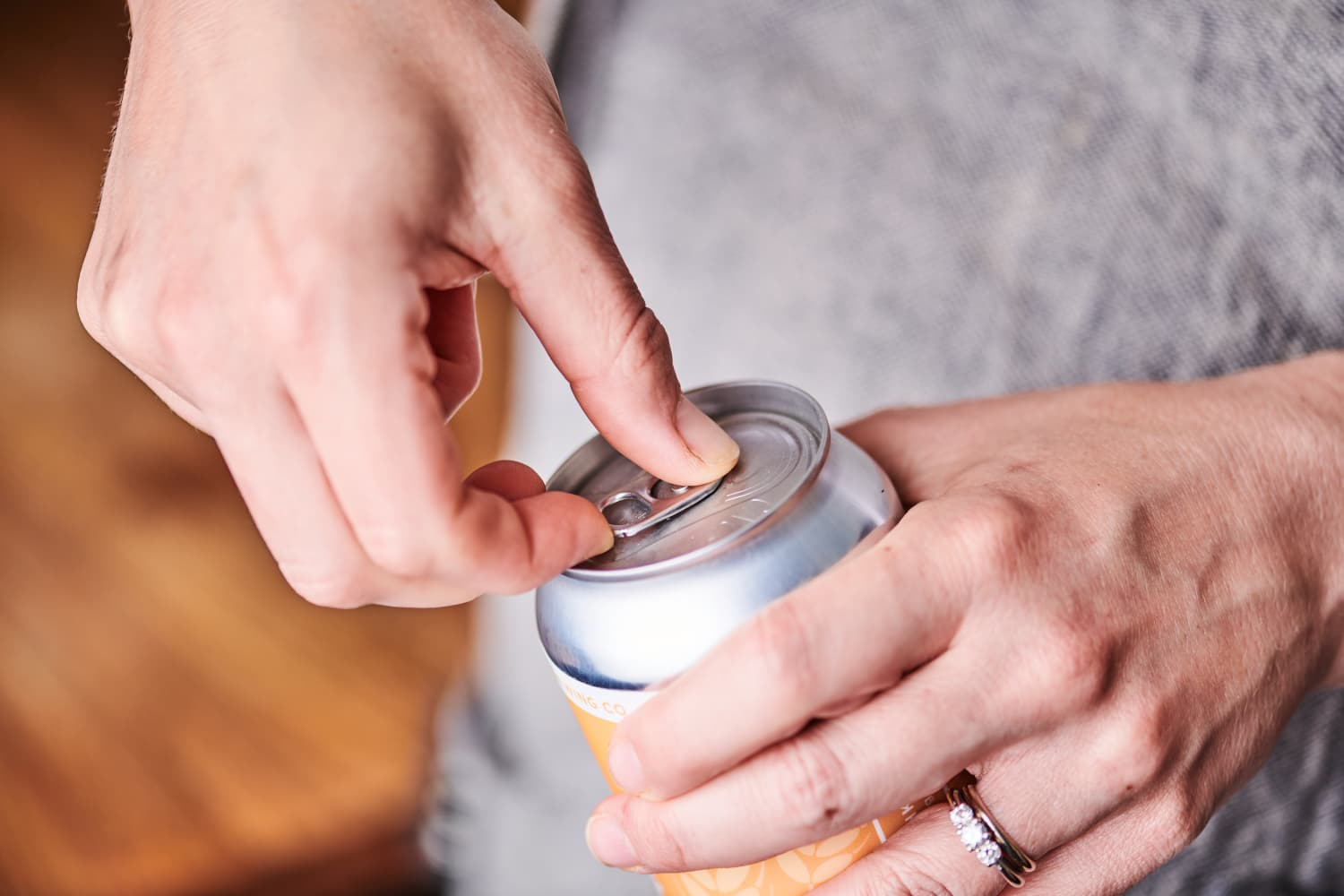 Is It Gross to Drink Out of a Can Without Washing It First? We Asked an Expert.