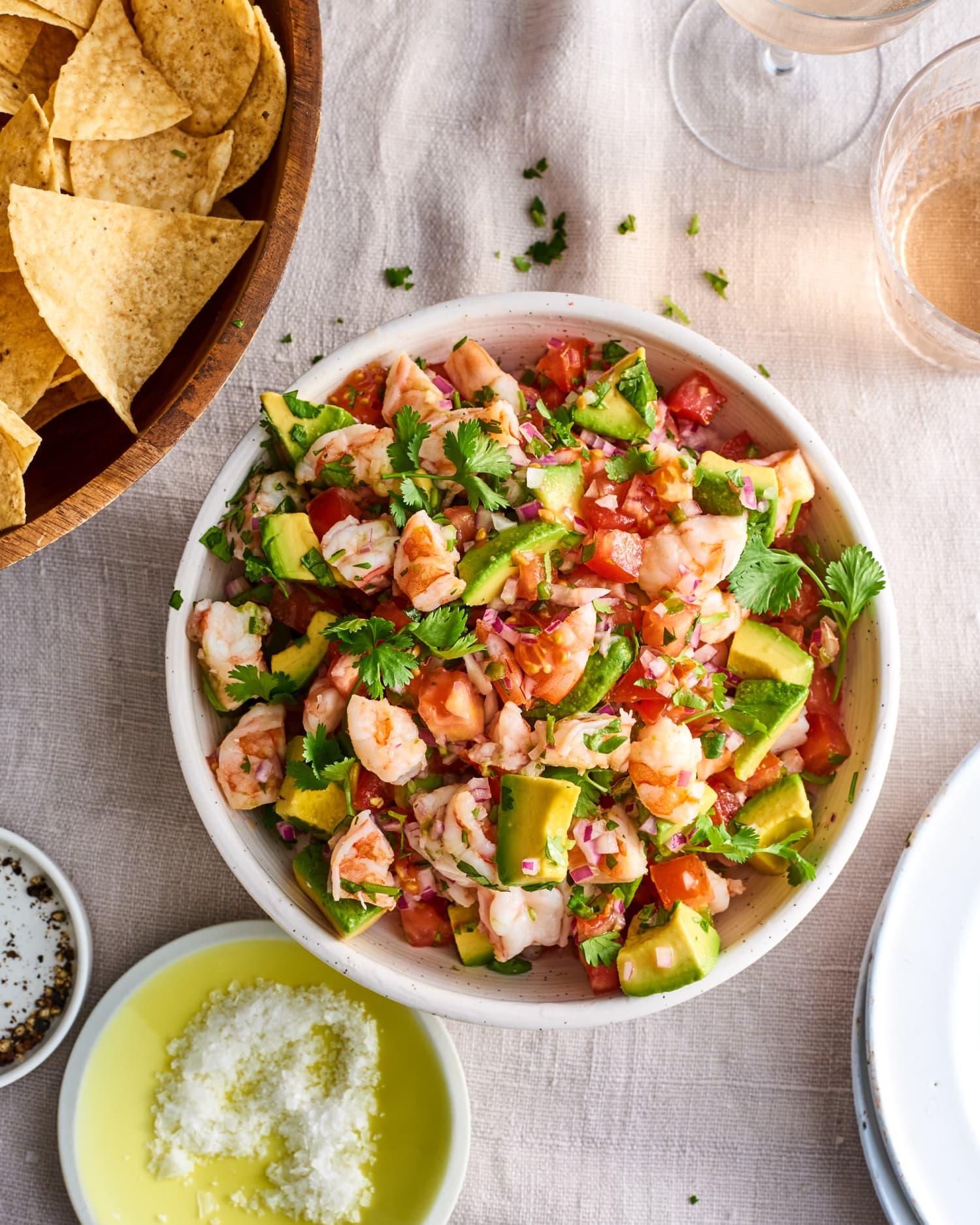 Easy Shrimp Ceviche Recipe Kitchn