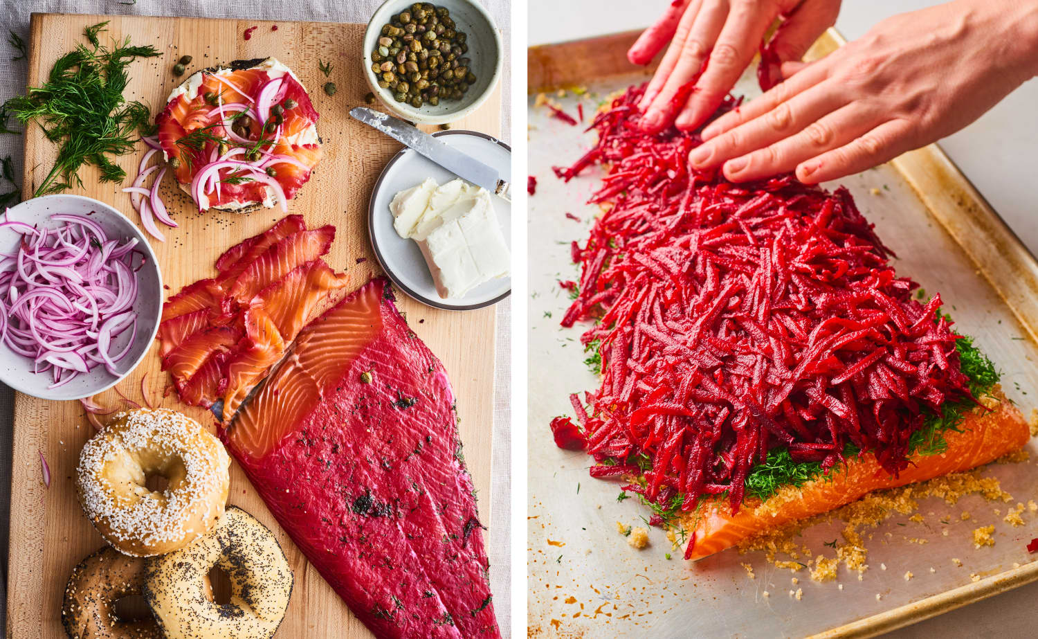 Beet Cured Salmon Kitchn