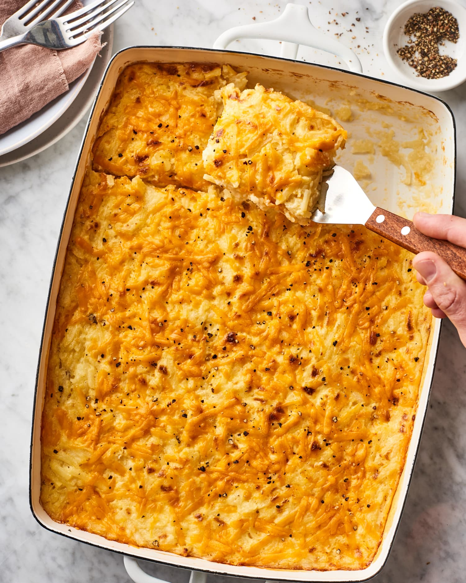 This Hash Brown Casserole Is Better Than the Restaurant Version