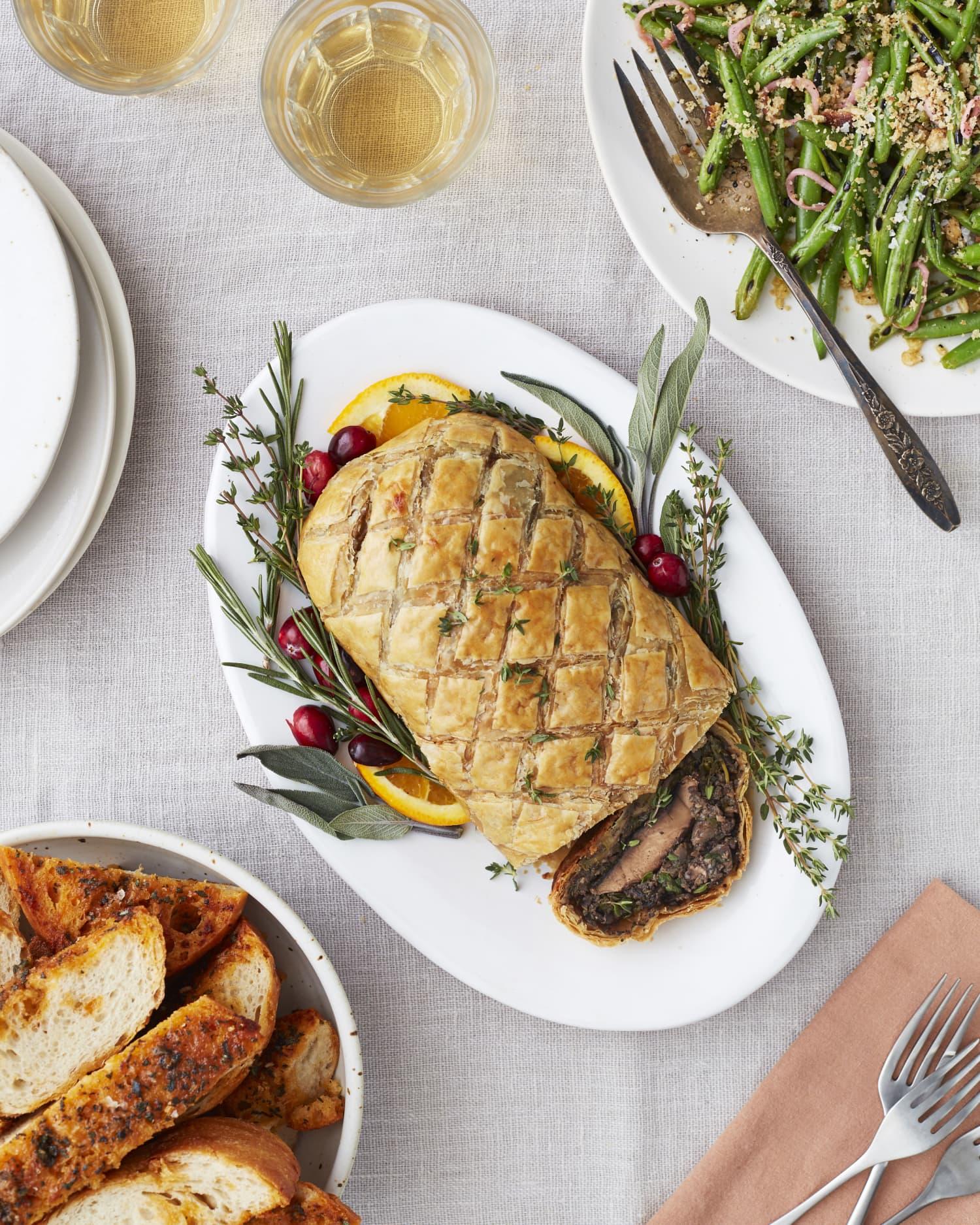 Mushroom Wellington: The Ultimate Vegetarian Thanksgiving Showstopper