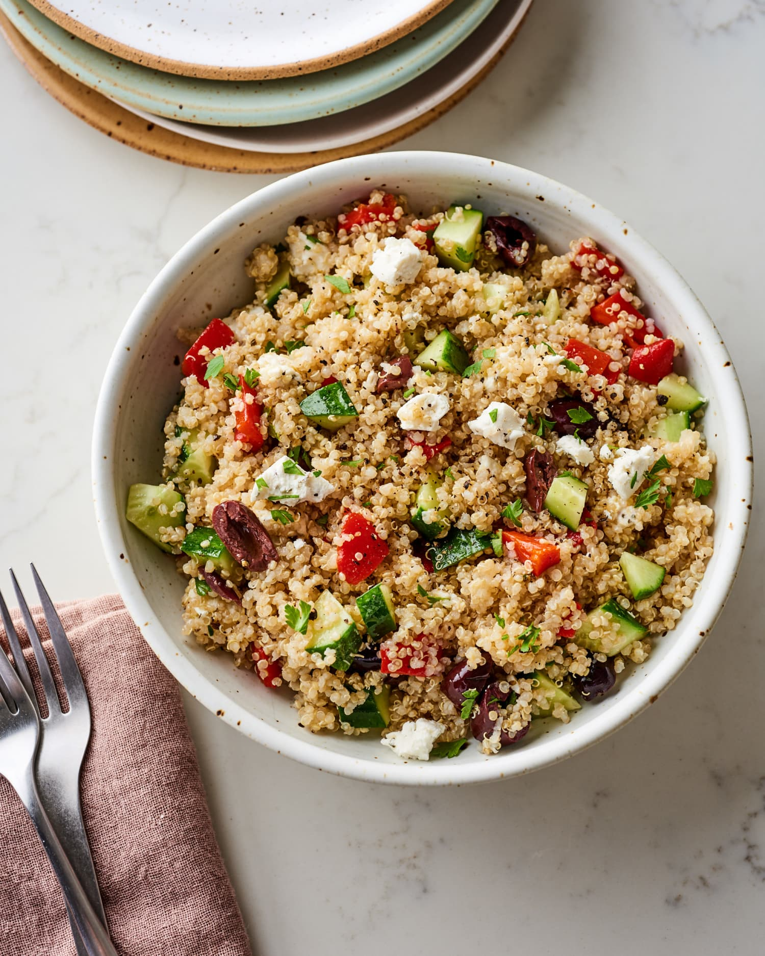 Mediterranean Quinoa Salad Recipe | Kitchn