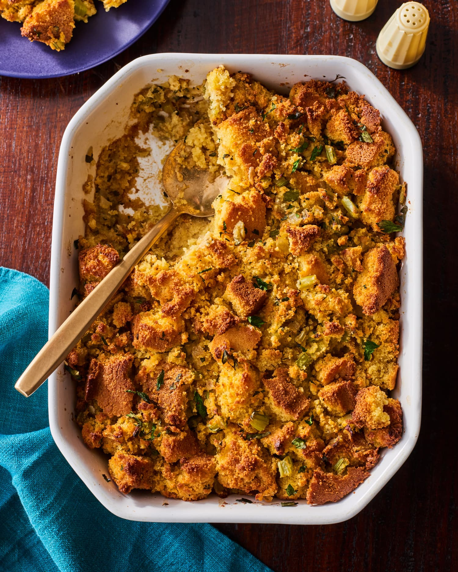 Classic Cornbread Stuffing Shouldn't Be Messed With. Here's the Best Recipe!