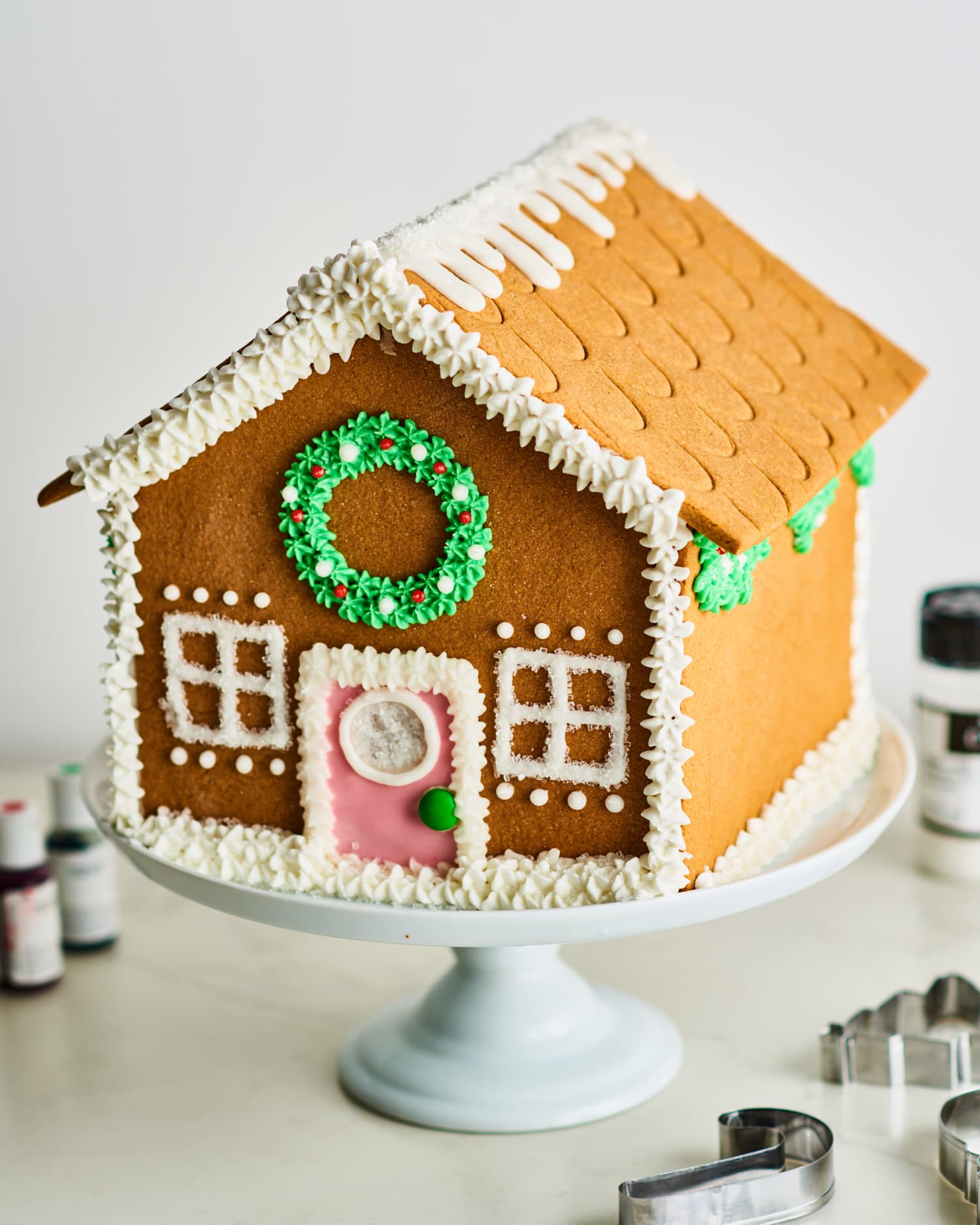 How To Make An Easy But Still Impressive Gingerbread House Kitchn