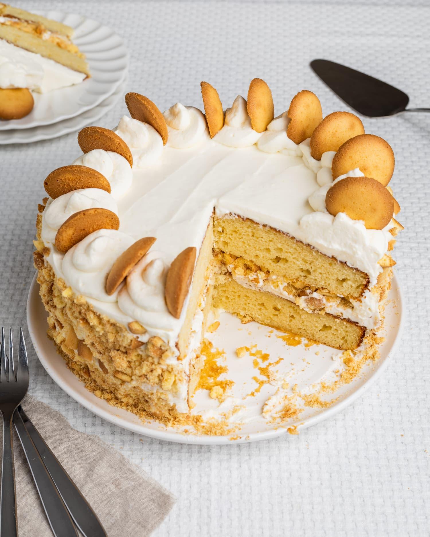 Easy Banana Pudding Cake Recipe