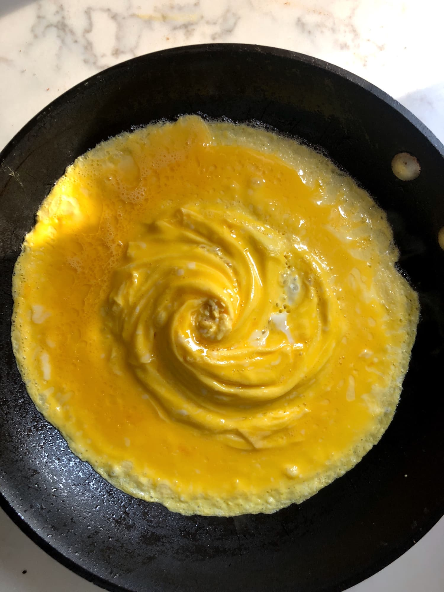 A Review Of The Viral Tornado Omelet Technique Kitchn