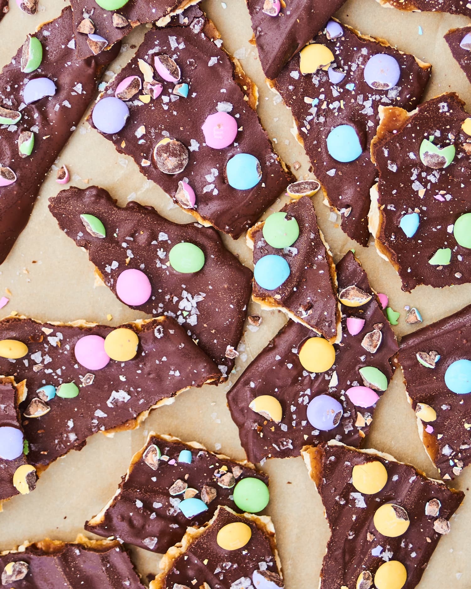 Easter Candy Matzo Bark Is the Ultimate April Dessert Mashup