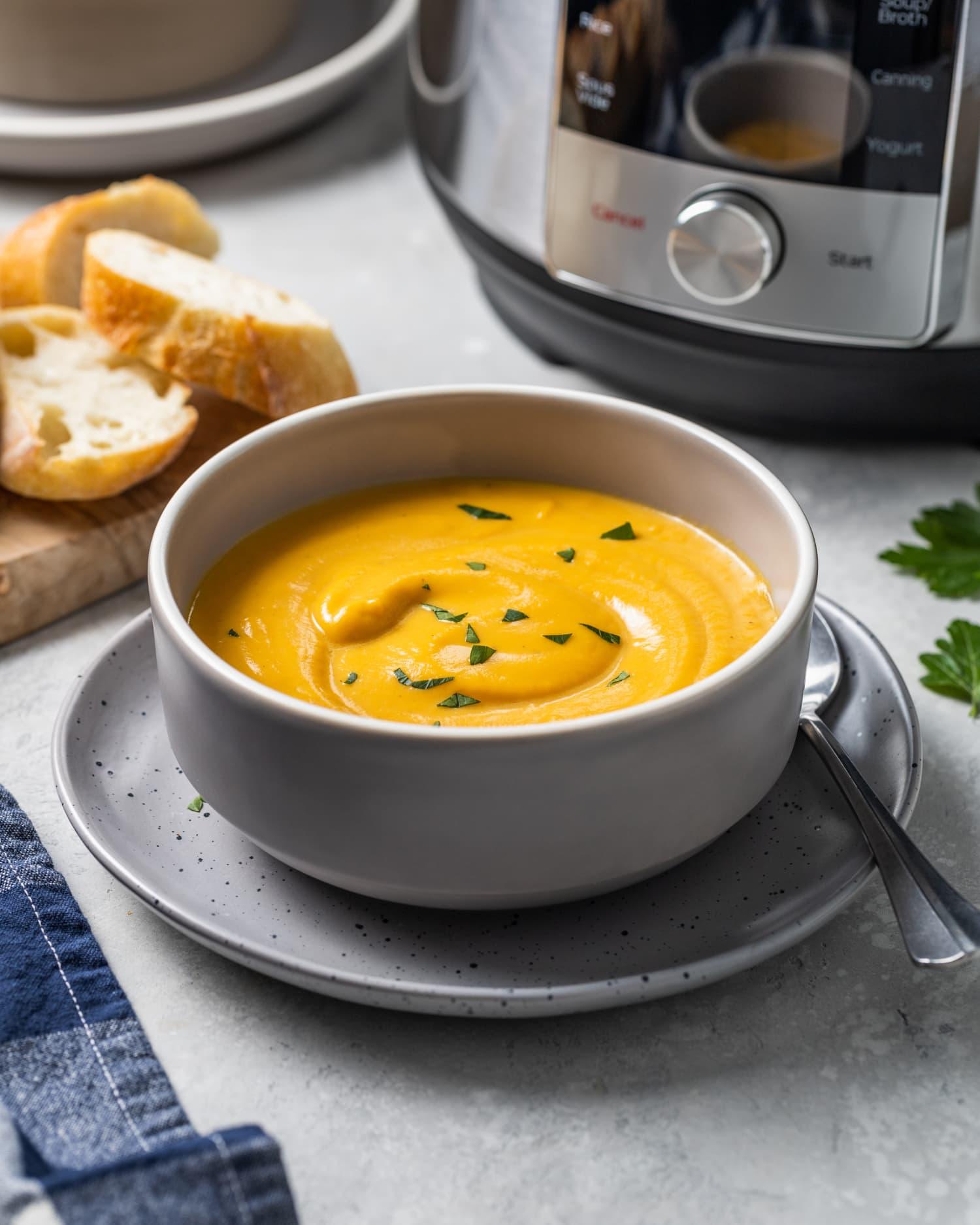 Instant Pot Sweet Potato Soup