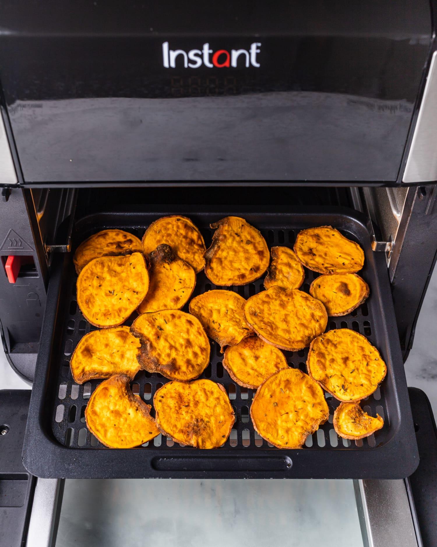 Bon Air Apartments: Air Fryer Sweet Potato Chips Recipe