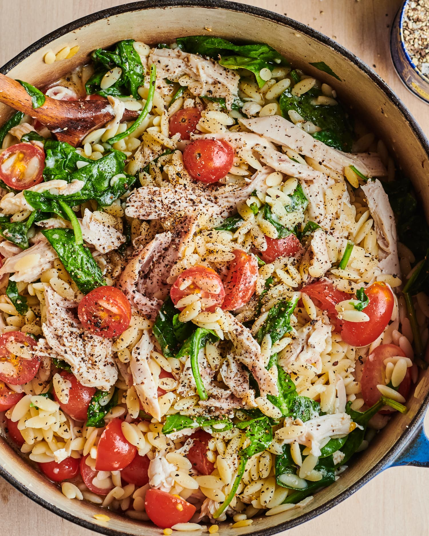 One-Pot Creamy Chicken Orzo Is Supremely Satisfying