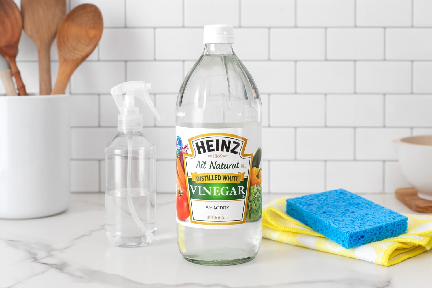 The Very First Thing You Should Do with a New Bottle of Vinegar