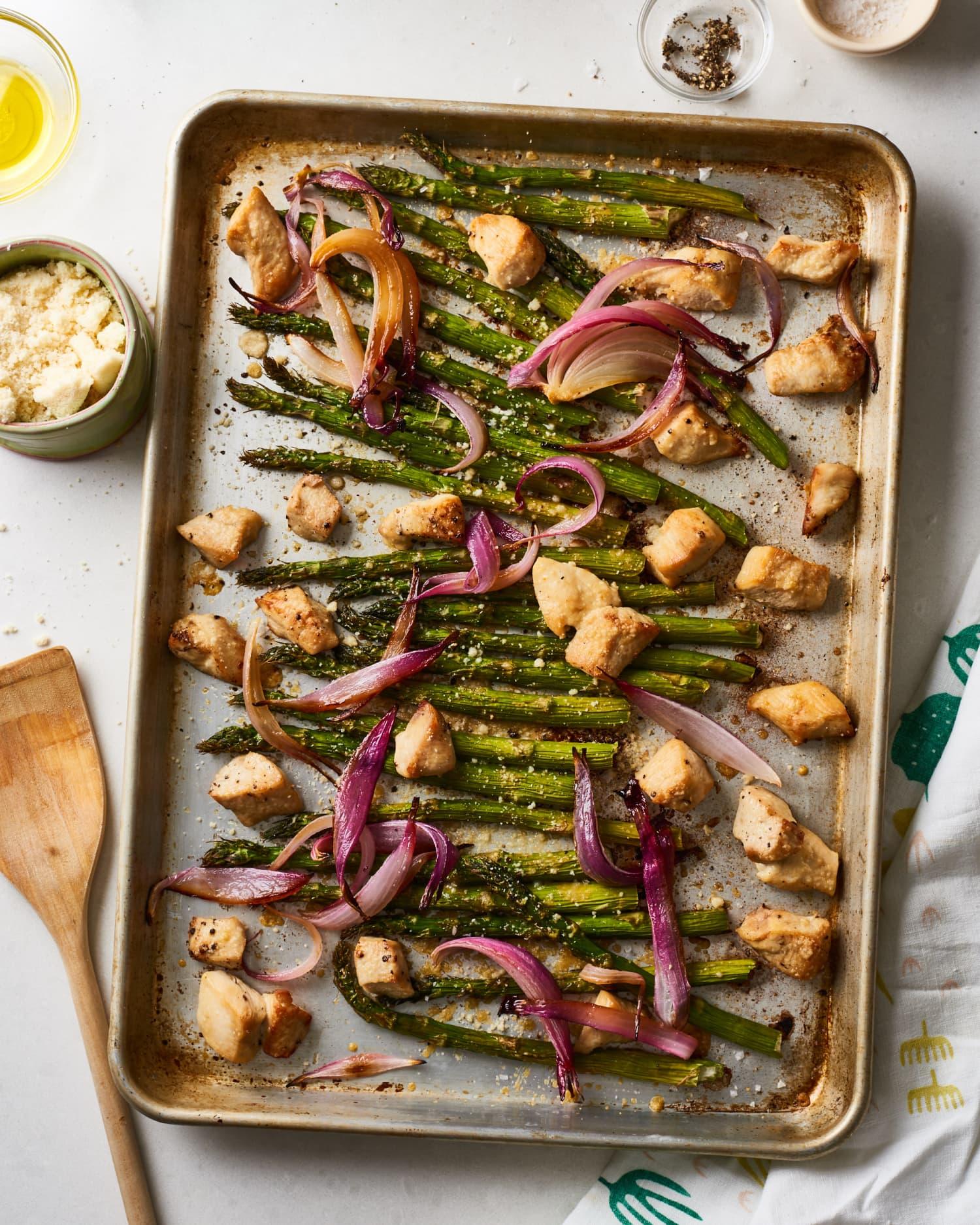 Recipe: Garlic Parmesan Chicken and Veggies