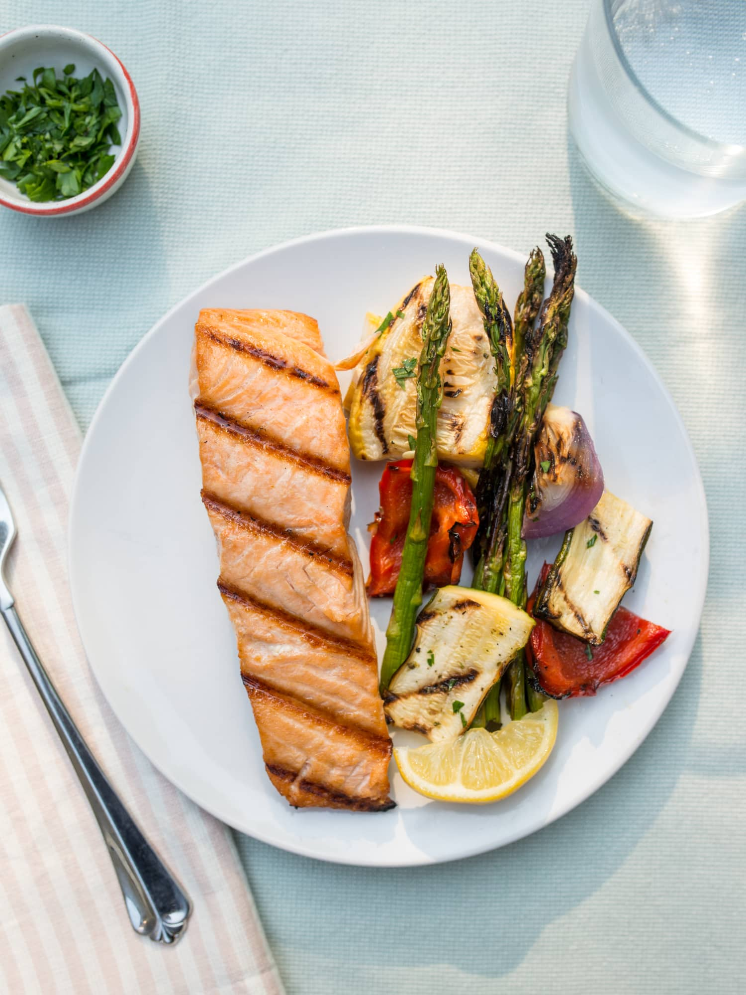 How To Grill Perfect Salmon Fillets