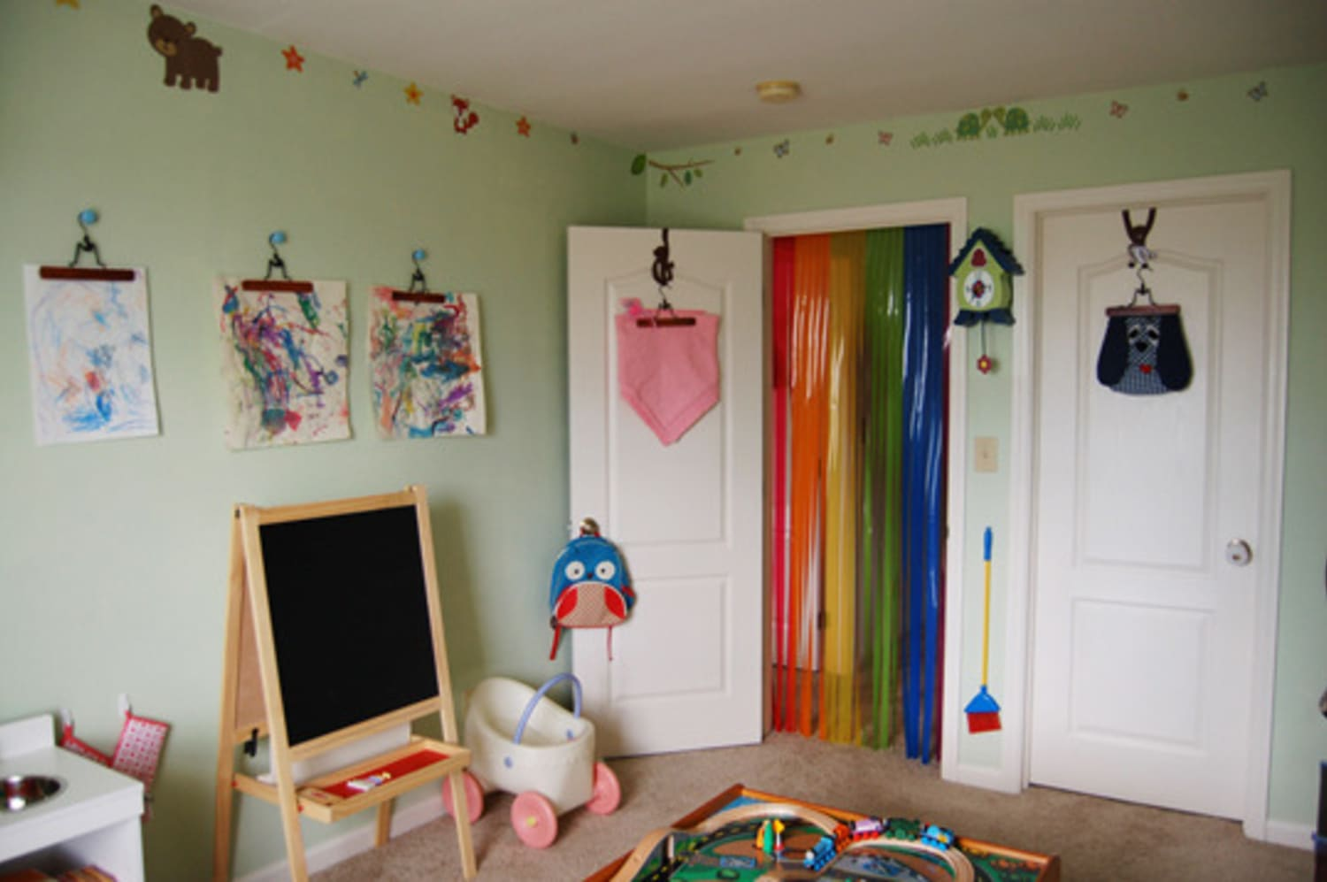 This Super Simple System Is the Easiest Way to Organize Your Kids' Artwork
