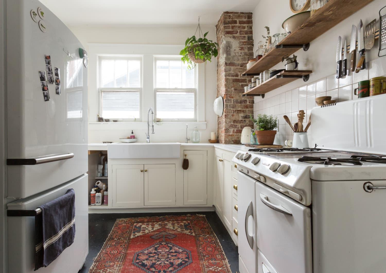 Finally, a Practical Rug That Actually Makes Sense in a Kitchen