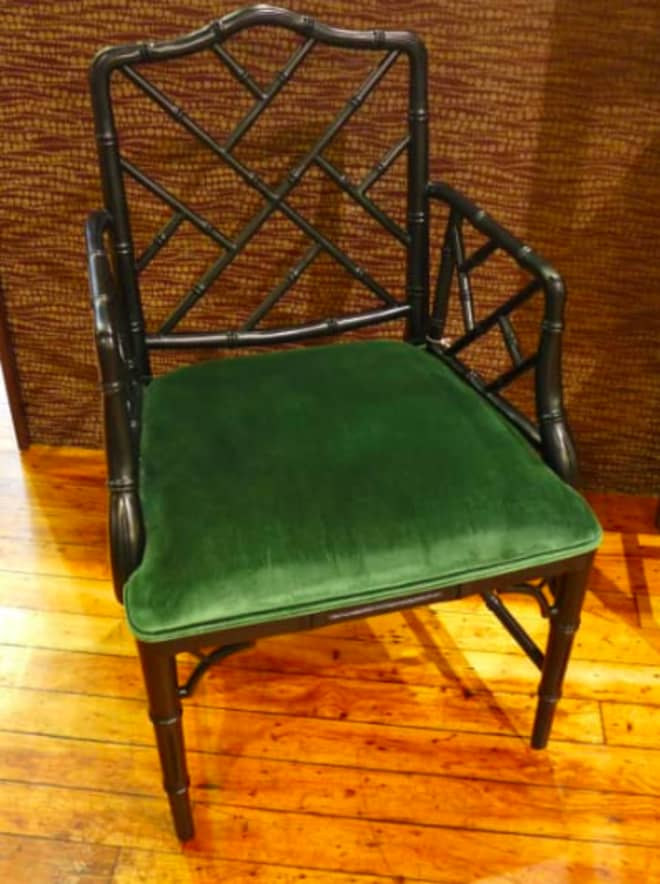 Why I Love Faux Bamboo Chairs (Shop This One on Bazaar!)