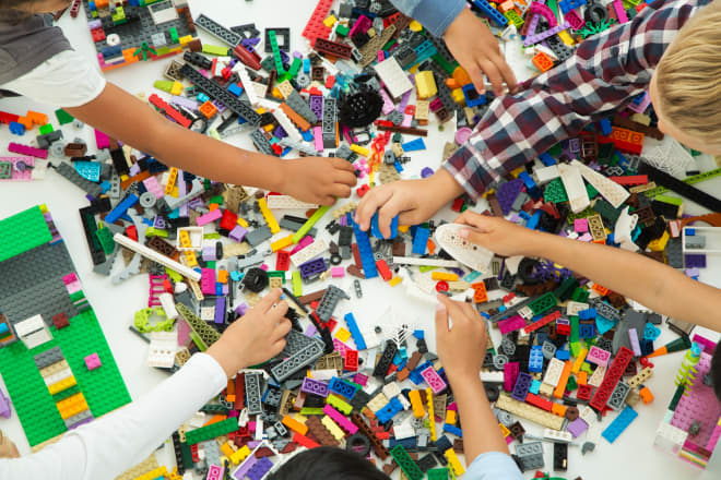 Here's How You Can Put Your Old LEGO Bricks to Good Use