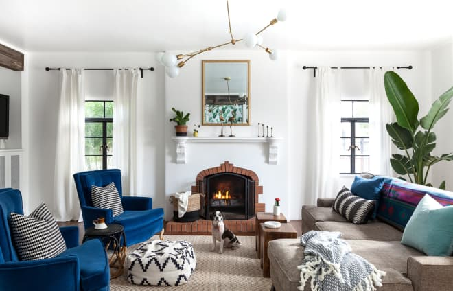 The 35 Best Living Room Fireplace Ideas, Just in Time for Cozy Season