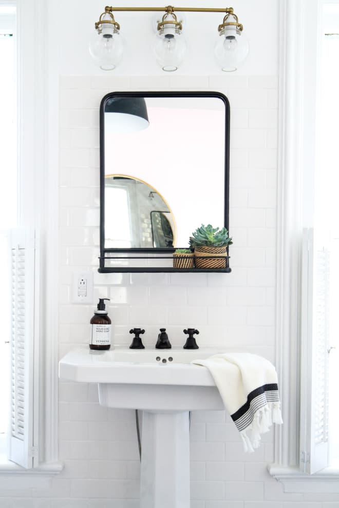 If You Want More Decor for Your Money, Don't Buy a Mirror Without a Shelf