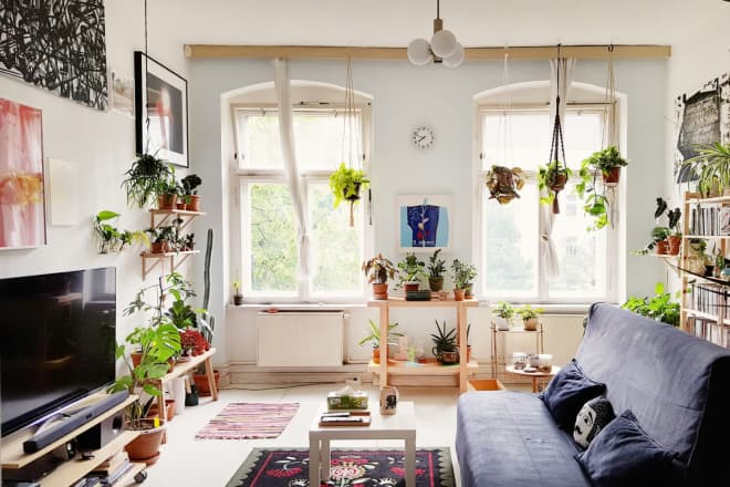 One Super Simple Way to Make Your Hanging Planter Look High-End