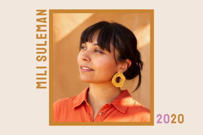 SPONSORED POST: Class of 2020: How Textile Designer Mili Suleman Is Preserving Old Techniques for Our Modern World