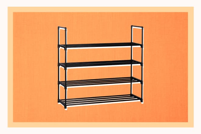 We Found the Perfect Shoe Rack, and It's Under $25
