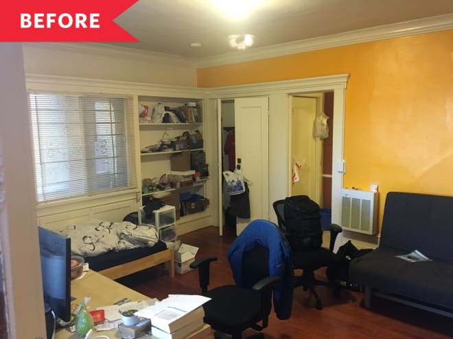 Before and After: This Studio Refresh Saved One Renter Lots of Cash