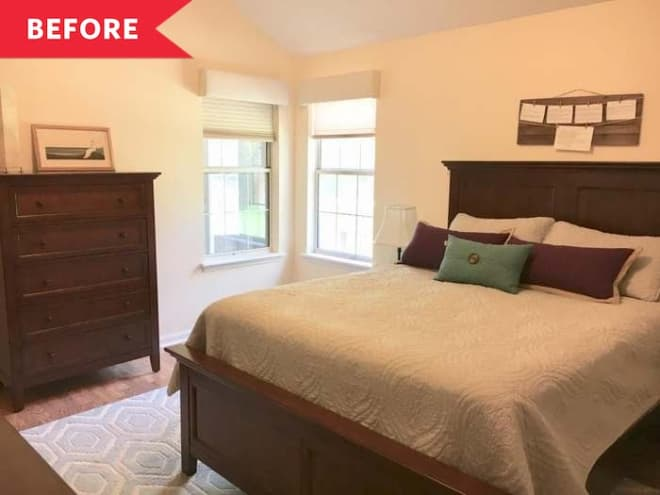 Before and After: How a Master Suite Went from Basic to Fabulously Boho