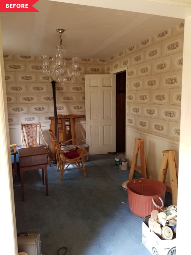 Before and After: A Total Dining Room Revamp at This Abandoned House