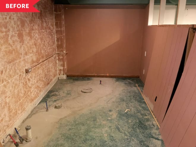 "Before and After: From ""Silence-of-the-Lambs-y"" to Bathroom Beauty"