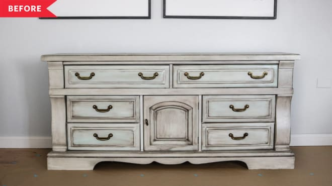 You'll Think Twice About Passing Up Old Furniture After You See These Dresser Makeovers