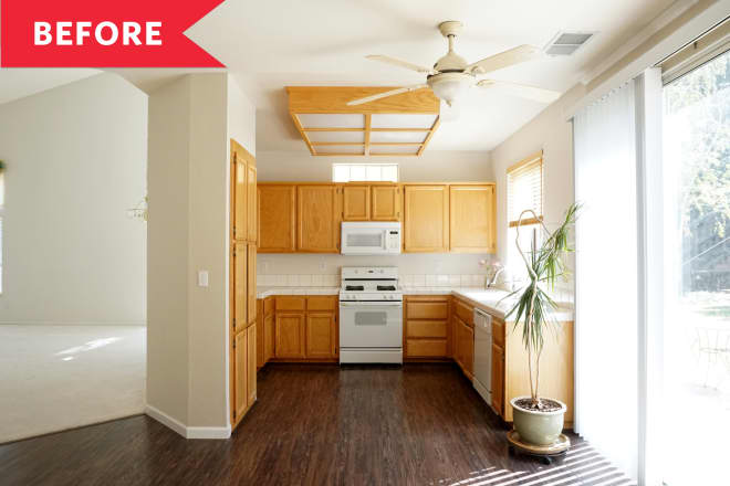 Before and After: A 90-Square-Foot Kitchen Doubles in Size (and in Style)