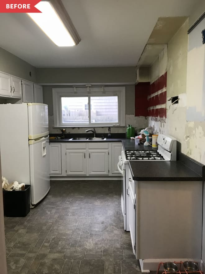 Before and After: A DIY Kitchen Redo That Would Make Chip and Jo Proud