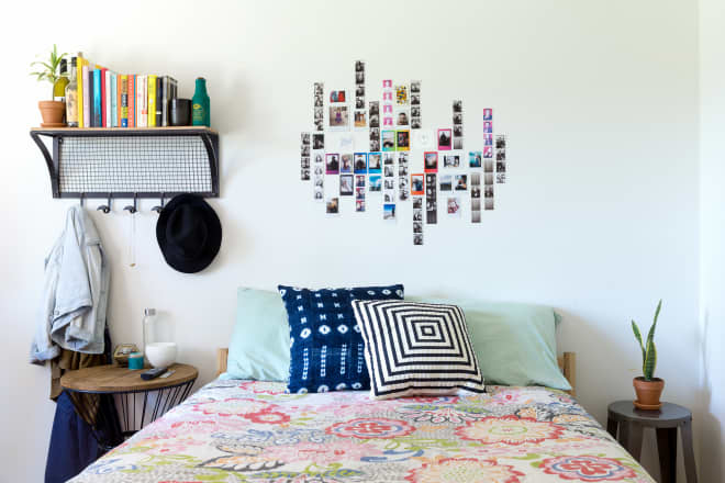 Is This Bookshelf Headboard Aspirational or Does it Stress You Out?
