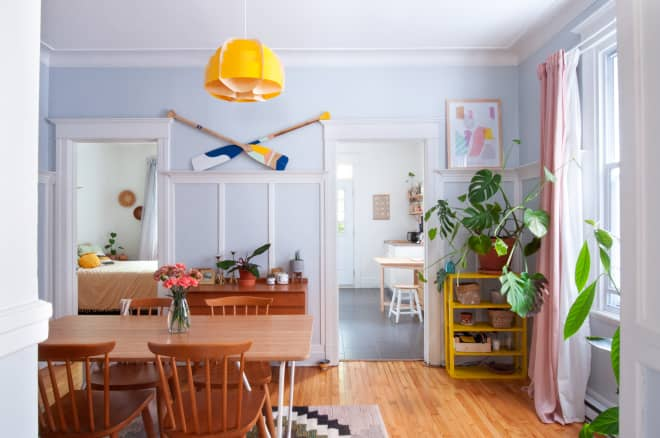 This Montreal Flat Might Have the Cheeriest Color Palette Ever