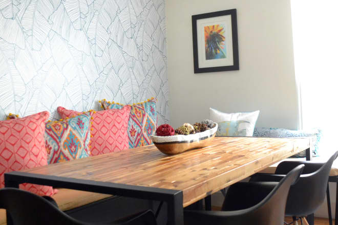 This Apartment Was Made Beautiful on a Budget Thanks to DIY Art, IKEA Hacks, and Discount Buys