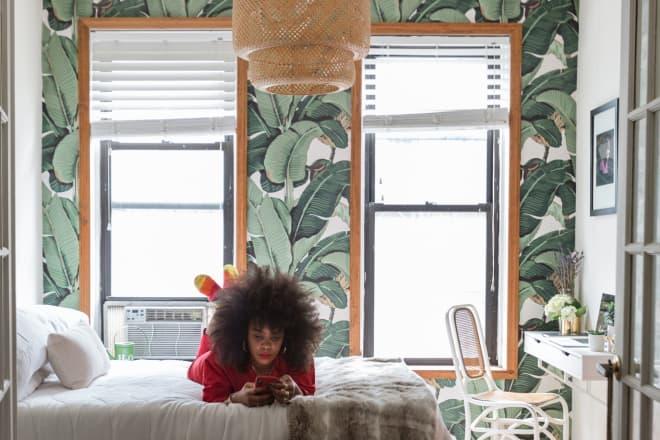 Cool Art & Cute DIYs Make This 475-Square-Foot NYC Apartment Elegant & Eccentric