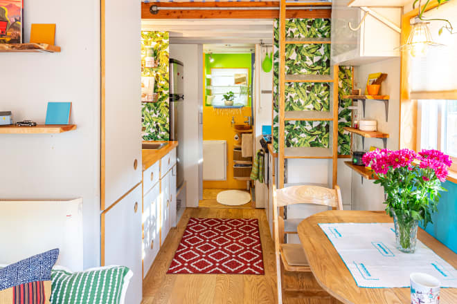 This Is Definitely the Cheeriest Tiny House of All Time