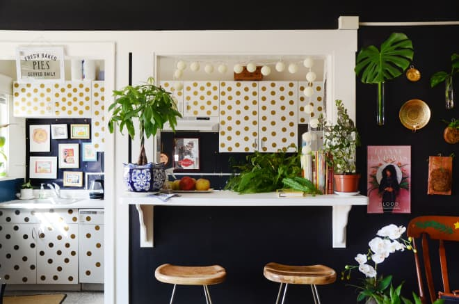 This Dark, Moody, Maximalist Apartment Was Inspired by Rihanna